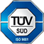 Certified by TÜV Süd
